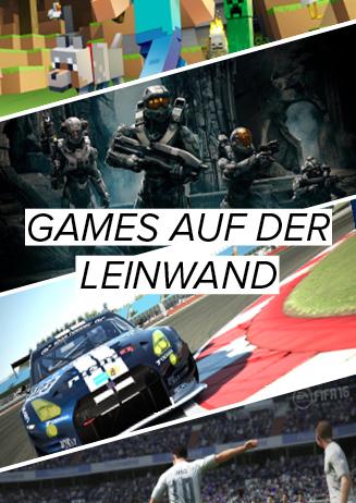 Games auf der Leinwand