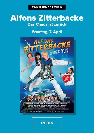 "Familienpreview ""Alfons Zitterbacke"""