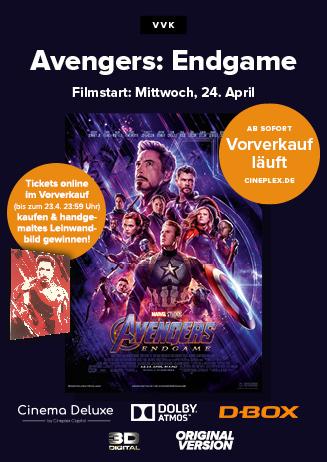 """""""Avengers: Endgame"""" - VVK läuft!"""