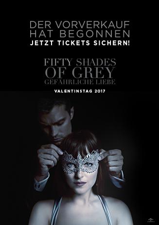 Vorverkauf: Fifty Shades of Grey - Gefährliche Liebe