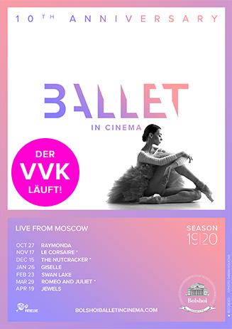 """VVK: """"Bolshoi Ballett Saison 2019/2020"""""""