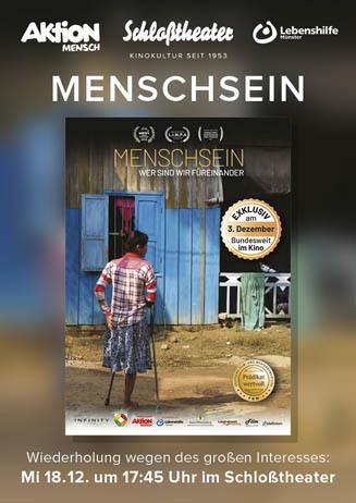 MENSCHSEIN (Wh.)