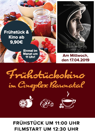 """Frühstückskino: """"Aufbruch zum Mond"""""""
