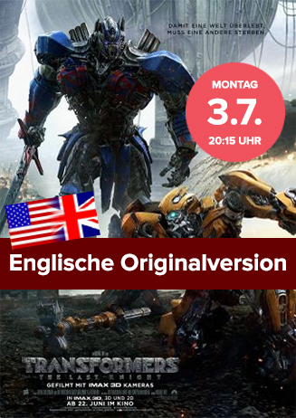 Englische Originalversion: Transformers