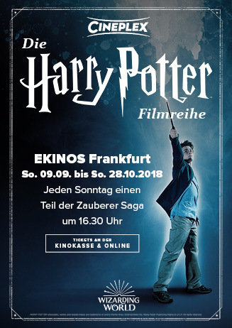 HARRY POTTER FILMREIHE