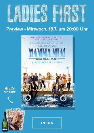 Ladies First Mamma Mia 18. Juli