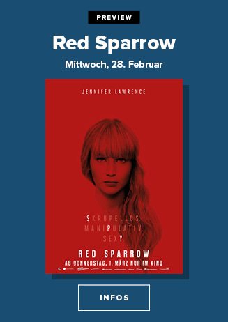 "Preview ""Red Sparrow"""