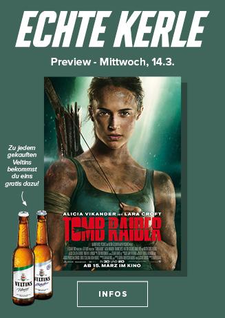 14.03. - Echte Kerle: Tomb Raider
