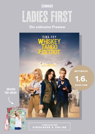 "Ladies-First-Preview ""Whiskex Tango Foxtrott"""