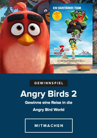 Gewinnspiel Angry Birds