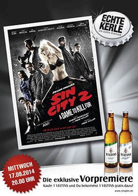 Echte Kerle Preview SIN CITY 2: A DAME TO KILL FOR (3D)
