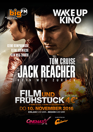 "Wake Up Kino: ""Jack Reacher"""