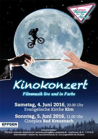 Filmmusikkonzert 05.06.2016 im Cineplex Bad Kreuznach