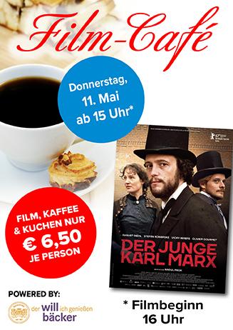"""170511 Film-Café """"Der junge Karl Marx"""""""