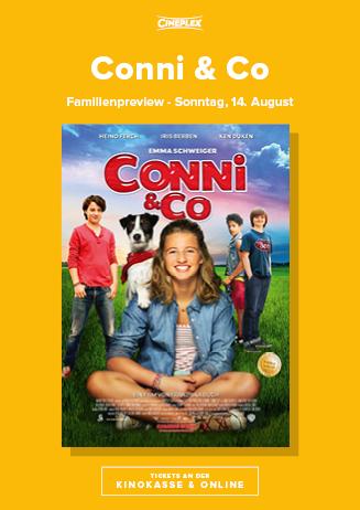 """Familienvorpremiere """"Connie & Co"""", 14.08."""