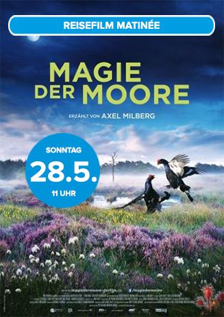 Reisefilm-Matinée: Magie der Moore