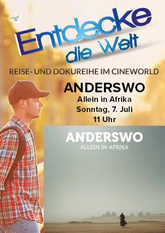 "190707 EdW ""Anderswo. Allein in Afrika"""