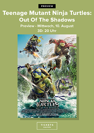 """160810 Preview """"TMNT 2"""""""