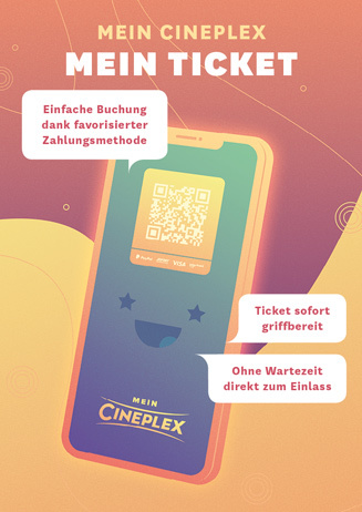 Mein Cineplex Ticket