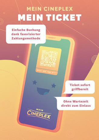 Mein Cineplex Ticket