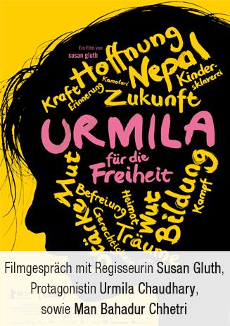 """Filmgespräch: """"Urmila - für die Freiheit"""""""