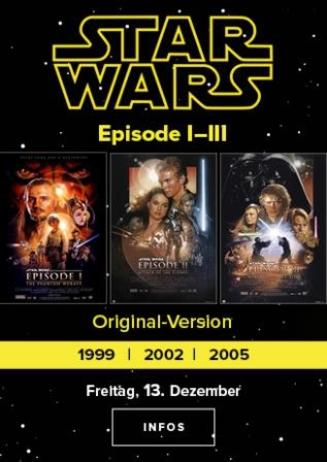 STAR WARS Eposide I - III