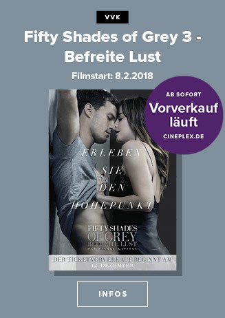 Vorverkauf: Fifty Shades of Grey - Befreite Lust