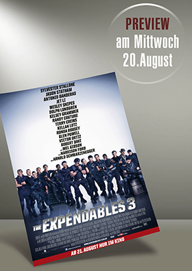 VORPREMIERE: The Expendables 3
