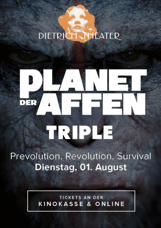 Triple: Planet der Affen