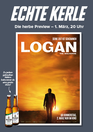 """Echte Kerle """"Logan - The Wolverine"""""""