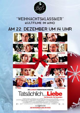 """Weihnachtsklassiker: """"Tatsächlich ... Liebe"""""""