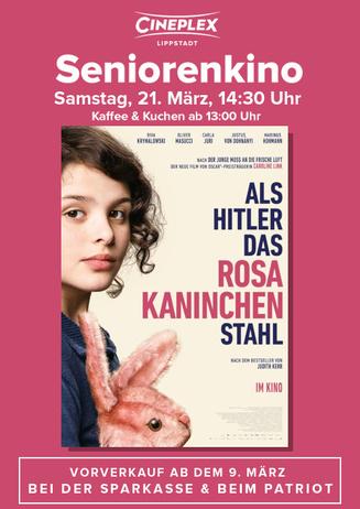 Seniorenkino: Als Hitler das rosa Kaninchen stahl