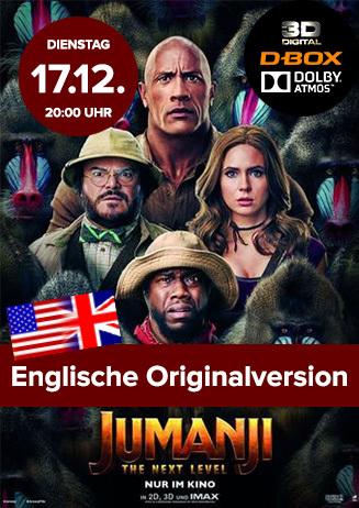 "Englische OV: ""Jumanji: The Next Level"""