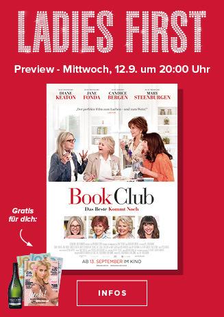 Ladies First Preview: Book Club - Das Beste kommt noch
