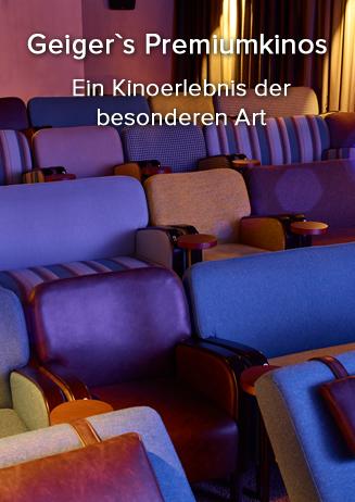 Geigers Premiumkinos Lounge