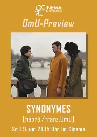 OmU-Preview: SYNONYMES