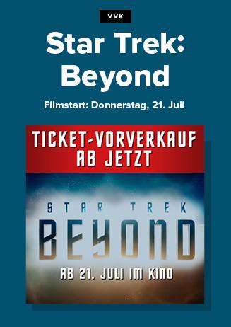 "Vorverkauf "" Star Trek:Beyond """