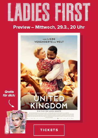 """Ladies First Preview """" A United Kingdom"""""""