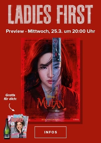 Ladies First: Mulan 3D