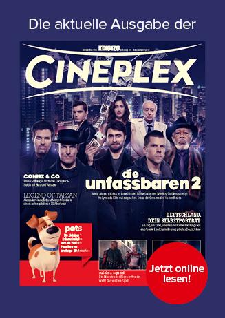 Aktuelle Ausgabe des Kinomagazins