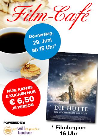 """170629 Film-Café """"Die Hütte - Ein Wochenende mit Gott"""""""