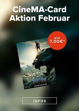 CineMA Card Aktion Februar
