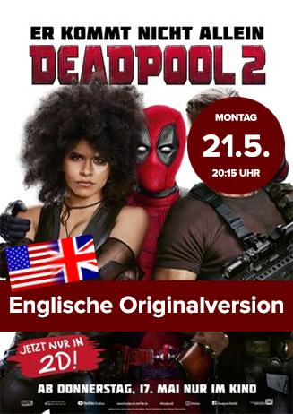 "Englische Originalversion: ""Deadpool 2"""