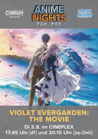 Anime Night: VIOLET EVERGARDEN