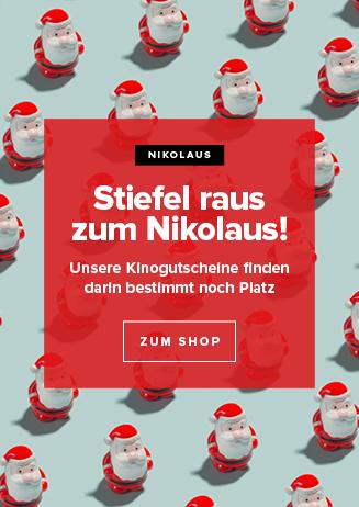 Kinogutscheine Nikolaus/Weihnachten 2019