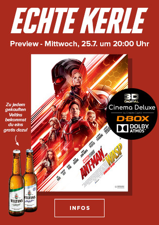 "Echte Kerle Preview: ""Ant-Man and the Wasp 3D"""
