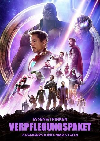 Avengers Marathon Verpflegungspaket