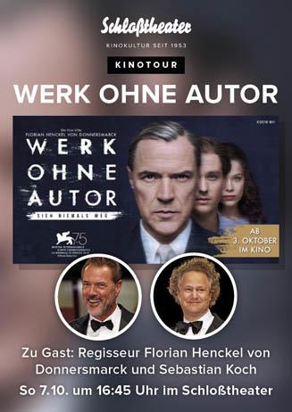 Kinotour: WERK OHNE AUTOR