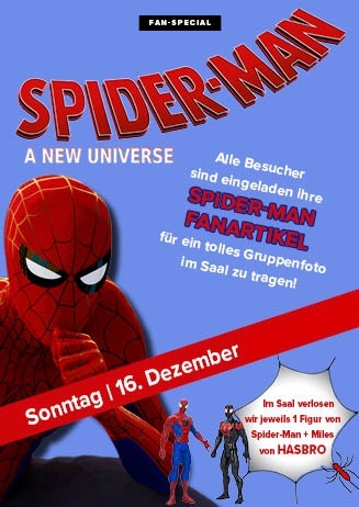 "Event: Fan-Screening zu ""Spider-Man: A New Universe""  16.12."