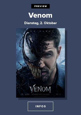 Superhelden gibt´s genug - Jetzt kommt Venom!